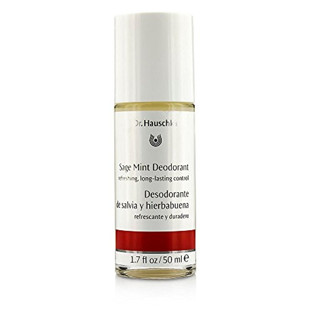 Dr. Hauschka by Dr. Hauschka Sage Mint Deodorant --50ml/1.7oz for WOMEN ---(Package Of 5)