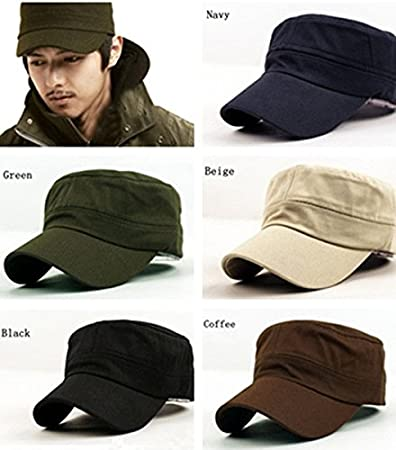 Amazon.com: Gifts. Unisex Vintage Baseball-Cap Adjustable Classic Plain Army Military Cadet Snapback Sports Baseball Cap for Women and Men Mothers Day (Army ...