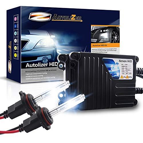 Autolizer 35W Xenon HID Lights - 9006 HB4 (8000K Iceberg Blue)