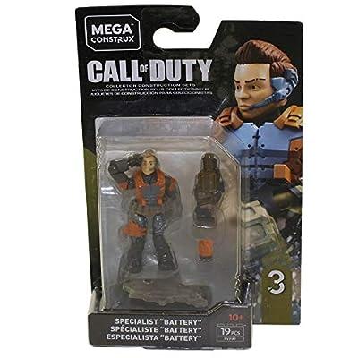 Mega Construx Call Of Duty BO3 Battery Building Set: Toys & Games