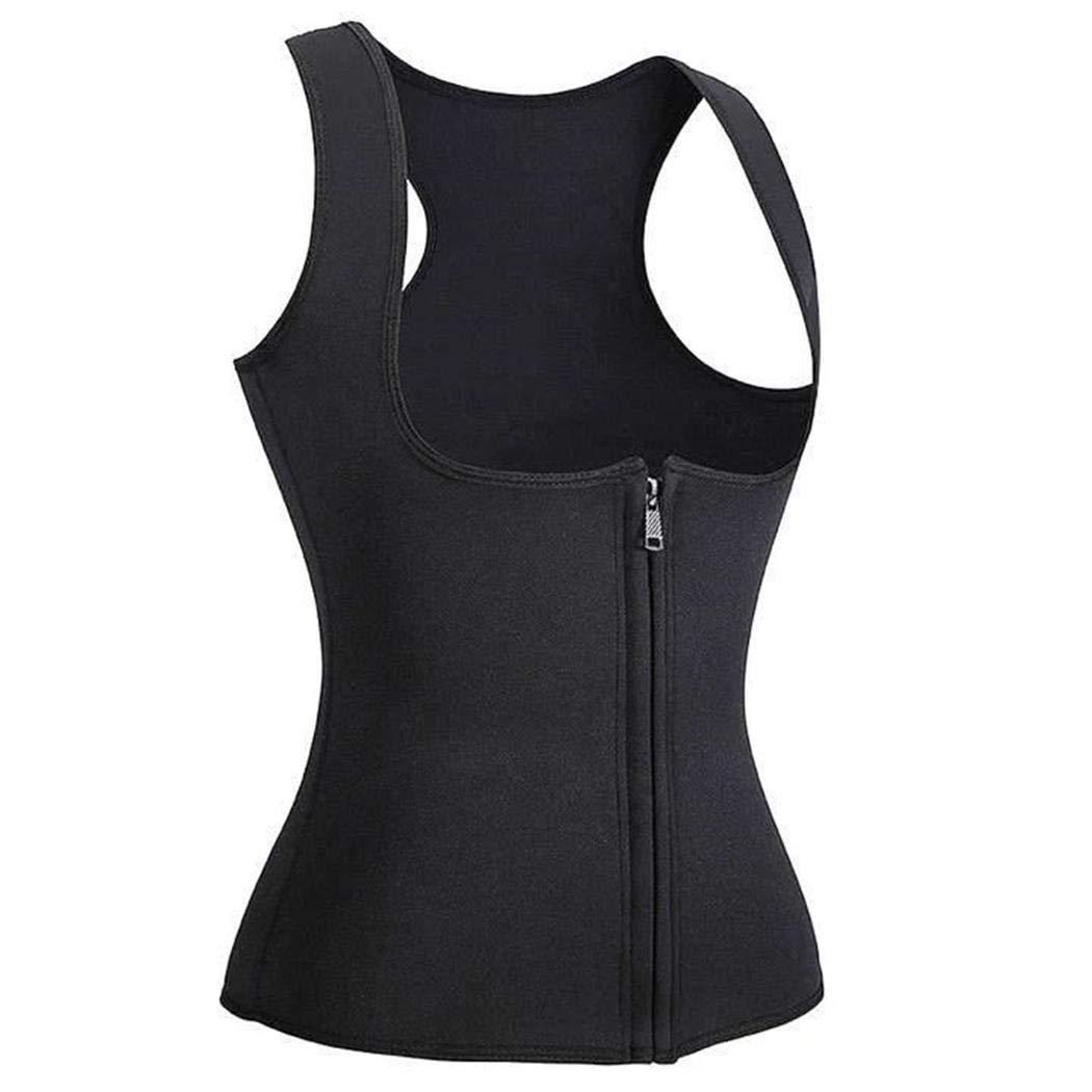 pikins Chaleco Cors/é Fitness Body Shaper Mujeres Entrenador de Cintura Entrenamiento Adelgazar Cors/és y Bustiers