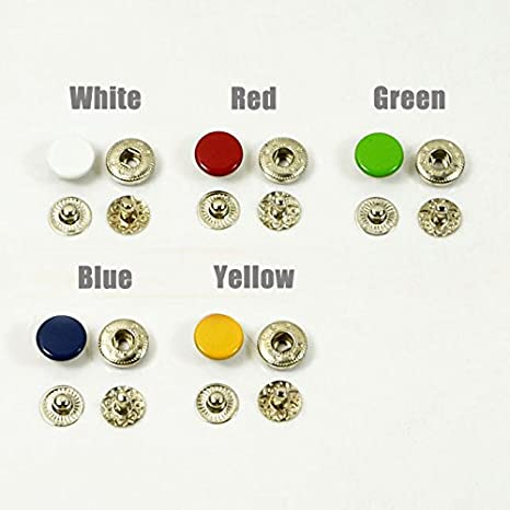 4 yard Roller Band Buttons Popper Snap Tape Stud Press Fastener Sewing Craft