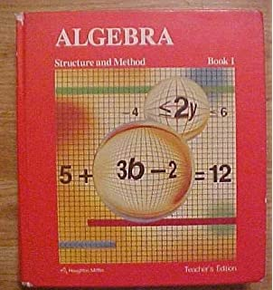 Algebra structure and method new edition book one mary p algebra structure and method book 1 teachers edition fandeluxe Image collections