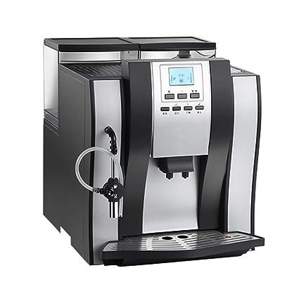 J.FANG-Hogar Máquina De Café Completamente Automática Casa Vapor Comercial Molinillo