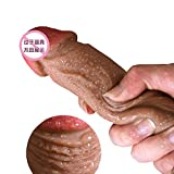Lovepan 18cm-Realistic-Man's-Penis-Liquid-Silicone-Dildo-Penis-with-Suction-Cup
