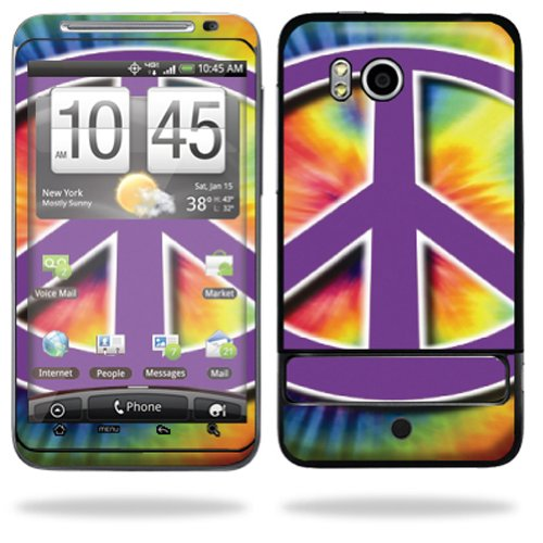 Mightyskins Protective Vinyl Skin Deca Cover for HTC Thunderbolt 4G Verizon Cell Phone wrap sticker skins - Hippie Time