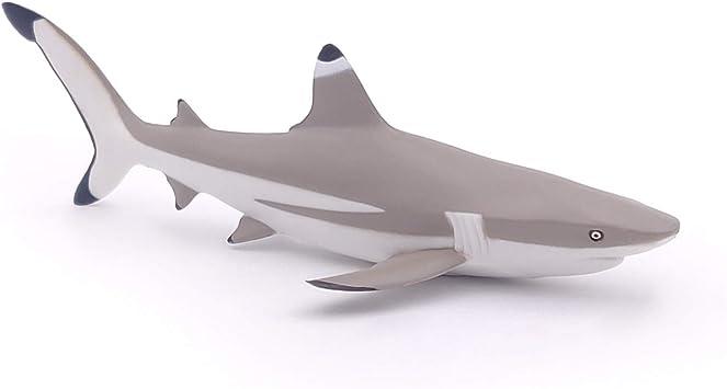 Papo Francia- Tiburon Arrecife Punta Negra Figura (56034)