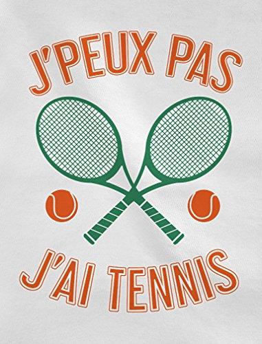 Tennis Sweatshirt Homme J'ai Blanc De Peux Joueurs Pas Humour Je wOt0qW
