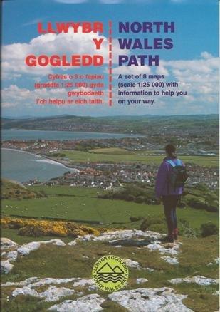 Llwybr Y Gogledd/ North Wales Path: Cyfres O 8 O Fapiau Gyda Gwybodaeth I'ch Helpu Ar Eich Taith/A Set of 8 Maps with Information to Help You on Your Way