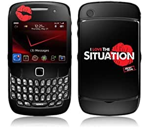MusicSkins, MS-JYSH60044, Jersey Shore - I Love The Situation Logo, BlackBerry Curve (8520/8530), Skin