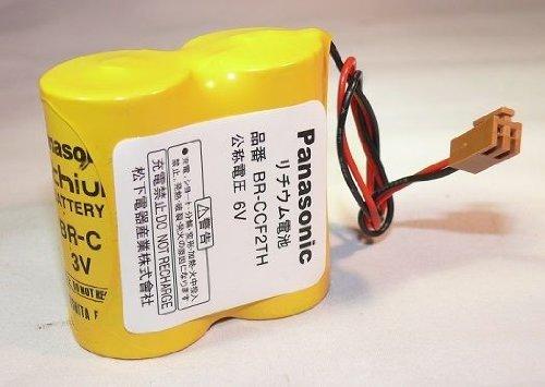 New PLC battery Panasonic BR-CCF2TE BR-CCF2TH 6.0V 5000mAh