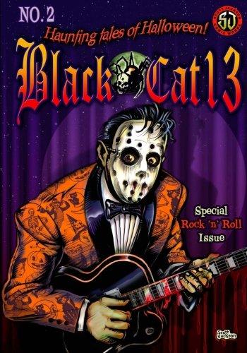 Black cat 13: Haunting Tales of Halloween (Volume 2)