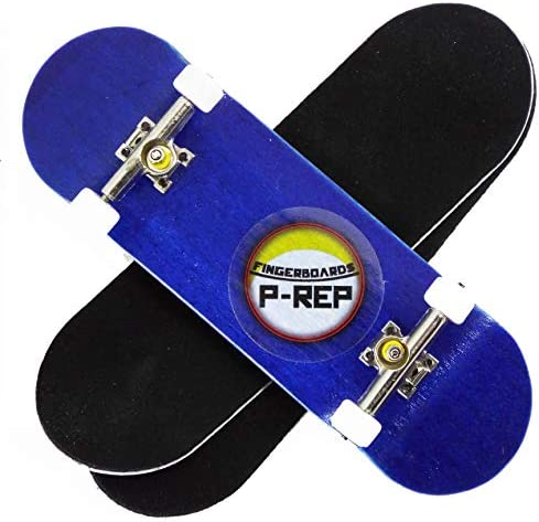 Dohnuts P-REP Solid Complete Wooden Fingerboard 32mm x 100mm Graphic
