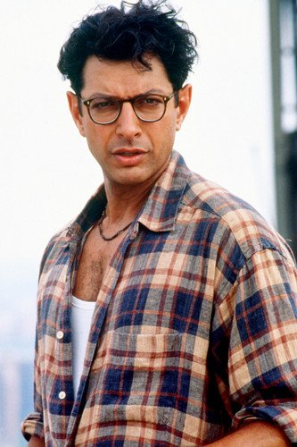 Jeff Goldblum 24X36 Color Poster Independence Day