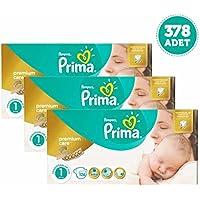 Prima Premium Care Bebek Bezi Yenidoğan 1 Beden 126 adet x 3 Ade