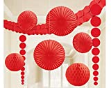 Amscan Party Decorating Kit, Apple Red