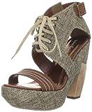 Best Michael Antonio Platform Heels - Michael Antonio Women's Tobi Platform Sandal,Brown,8 M US Review