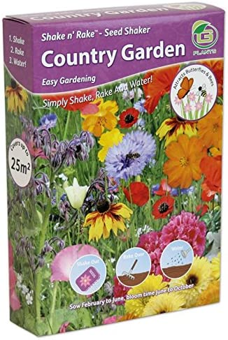 Butterfly bee Wildflowers Shake And Rake Grow Your Own Colour Themed Annual Flowers from Seed