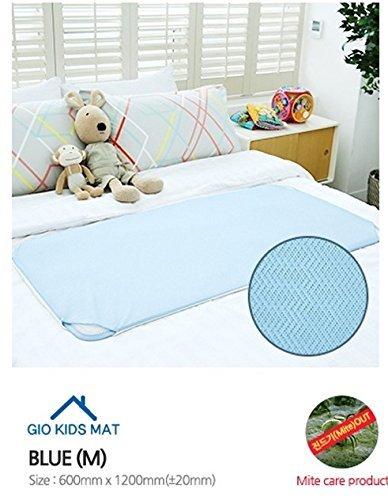 Gio Pillow Kid's Playard Coushion Mattress Medium (0-36 months) Blue