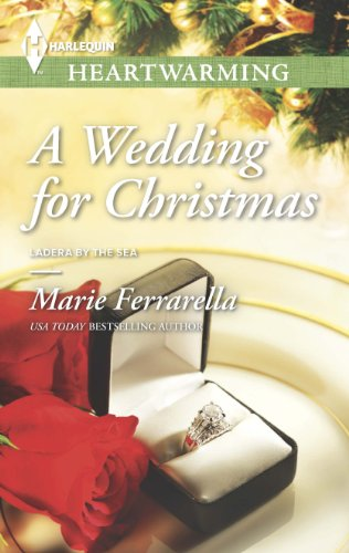 book cover of a wedding for christmas