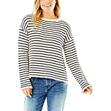CARVE Designs Whitcomb Sweater, Small, Birch Mariner