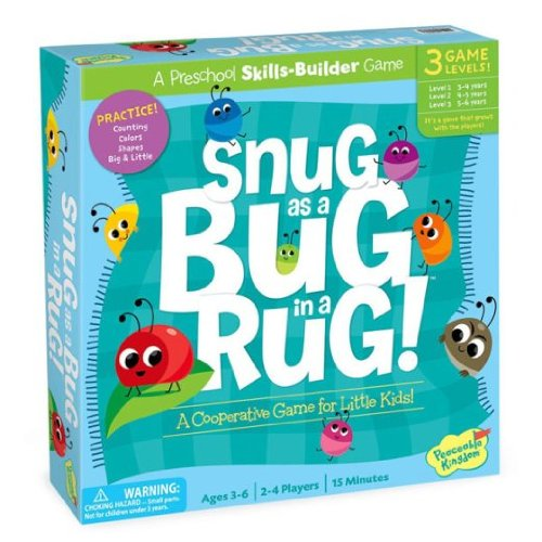 Peaceable Kingdom SNUG AS A BUG IN A RUG GAME