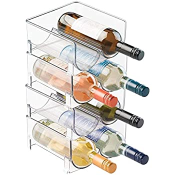 Amazon Com Mygift Modern Clear Acrylic Freestanding