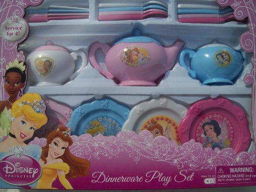 Disney Princess Dinnerware Dish Tea Set 26 Pieces (styles and colors may vary) - Buy Online in Kuwait. | Toy Products in Kuwait - See Prices ... & Disney Princess Dinnerware Dish Tea Set 26 Pieces (styles and colors ...