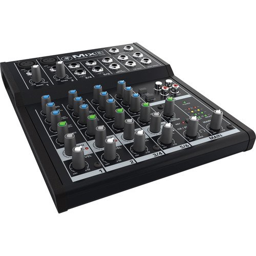 mackie 4 channel mixer - 3