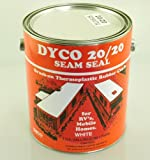 Dyco Paints 2020SS 20/20 Brush On White Seam Sealant - 1 Gallon