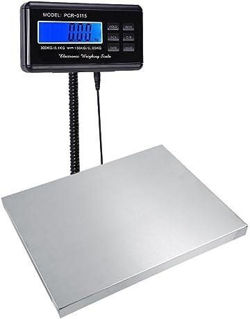 Resistente 150KG/0.05KG 300KG/0.1KG Digital Escala Postal de Envío Eléctrico Escala
