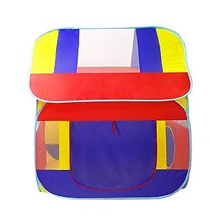 Tenda da Gioco per Bambini Playhouse Big House per Bambini Gioco Toy House all'Interno o all'aperto e Giocare a Tenda di Gioco Compleanno Facile da assemblare (Colore : Viola)