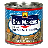 Empacadora San Marcos Sliced Jalapeno Peppers, 11-Ounce Cans (Pack of 12)