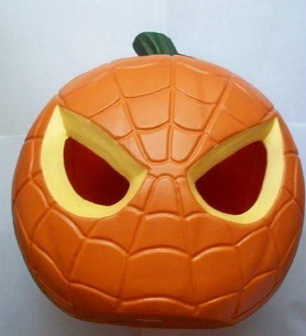 Marvel Spiderman Light Up 10 Tall Pumpkin Amazon Co Uk Kitchen Home