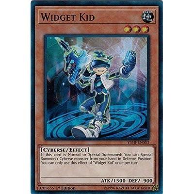 Yu-Gi-Oh! - Starter Deck: Codebreaker - Widget Kid - YS18-EN003 - Super Rare - 1st Edition: Toys & Games