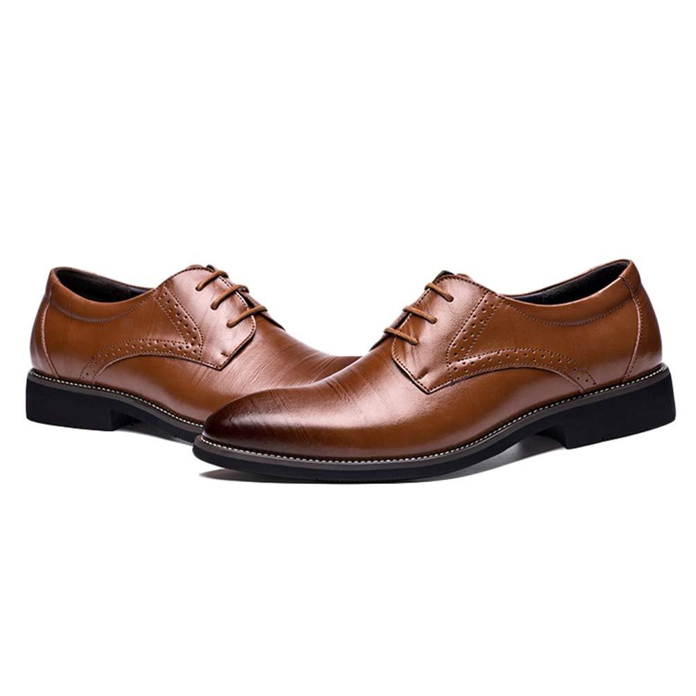 Formale Mann Leder Herren Oxford Schuhe Classic Kleid Flat mnwOvN80