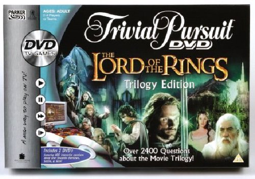 (Hasbro Lord Of The Rings Trivial Pursuit - Dvd Game)