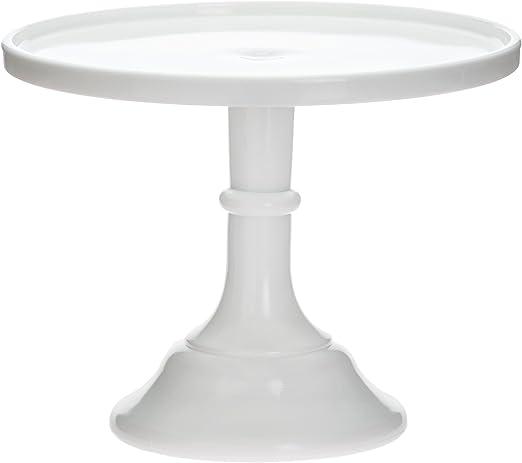 Cake Plate Milk Mosser Glass