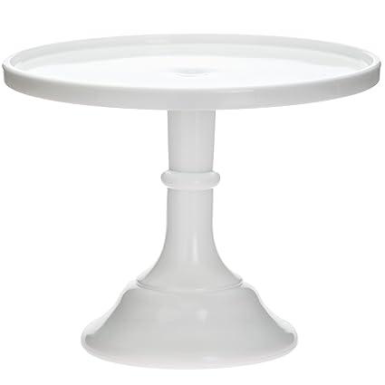 Mosser Glass 12\u0026quot; Milk Glass Cake Plate/stand  sc 1 st  Amazon.com & Amazon.com: Mosser Glass 12\