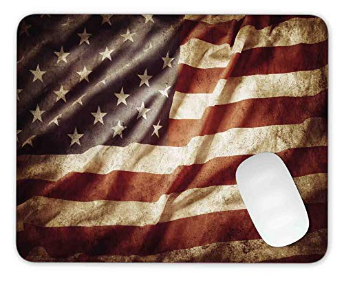 American Flag Mouse pad Gaming Mouse pad Mousepad Nonslip Rubber Backing