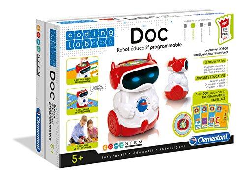 image Clementoni 52252 Doc Robot Éducatif Parlant Programmable