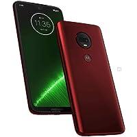 """Motorola Moto G7 Plus XT1965 64GB 6.2"""" FHD+ Dual SIM LTE Desbloqueado de fábrica (Modelo Internacional), Rojo"""