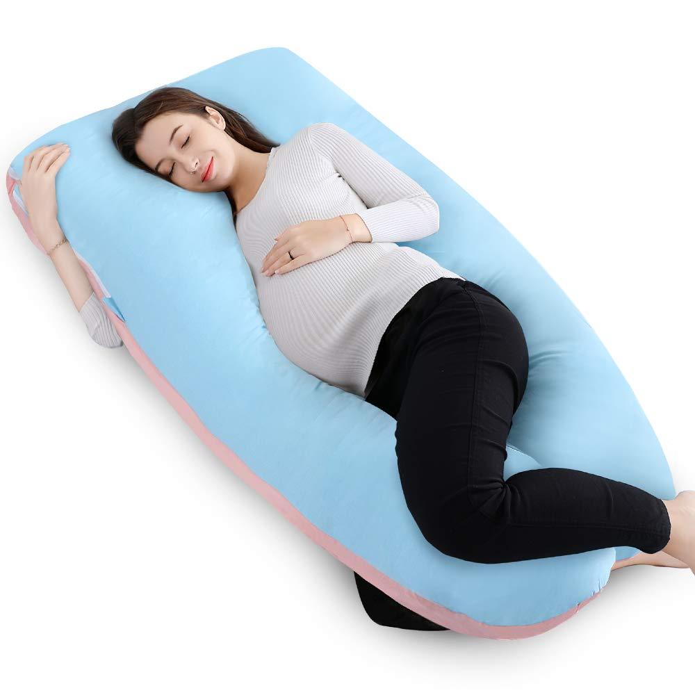 Queen Rose 55 Quot Full Body Pregnancy Pillow U Shaped