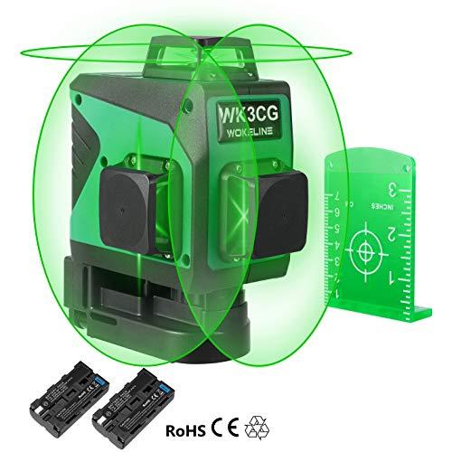 Wokeline 3x360° Laser Level