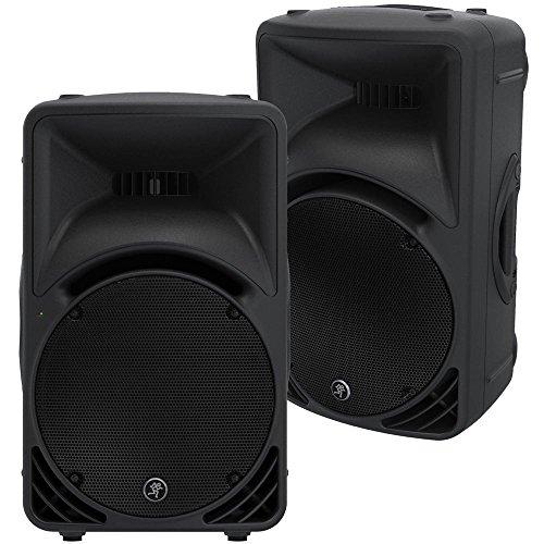 Mackie SRM 450 V3 12 in Powered PA Speaker Pair (Mackie Srm 450 Powered Speakers compare prices)