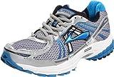 Brooks Men's Adrenaline GTS 12 Running Shoe,White/Obsidian/Brilliant Blue/Dark Navy/White,7 B US