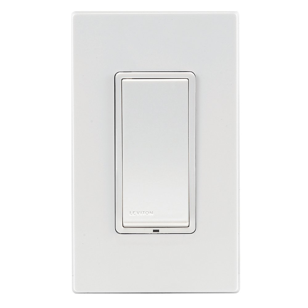 Leviton Decora Switch, Z-Wave, 15-Amp, Scene Capable, Works with Amazon Alexa