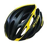 Giro Saros Bike Helmet, Matte Black/Yellow Livestrong, Small