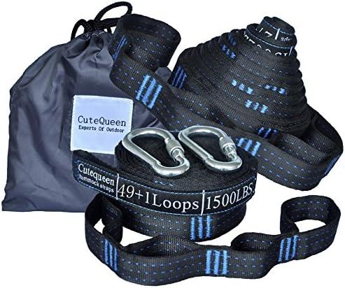 Cutequeen Versatile Suspension Meters 100 Black Blue product image