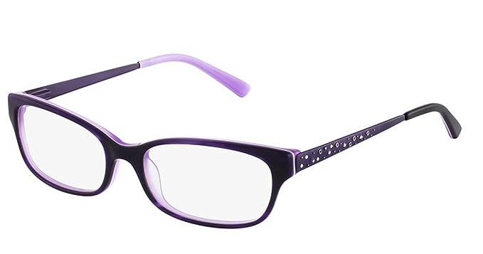 b01a2991904 BEBE Eyeglasses BB5077 505 Plum 52MM at Amazon Men s Clothing store